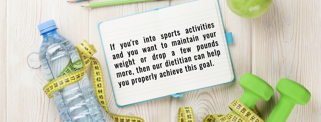 sports activities quote - 4 Reasons Why You Should Consult a Nutritionist Dietitian for Weight Loss